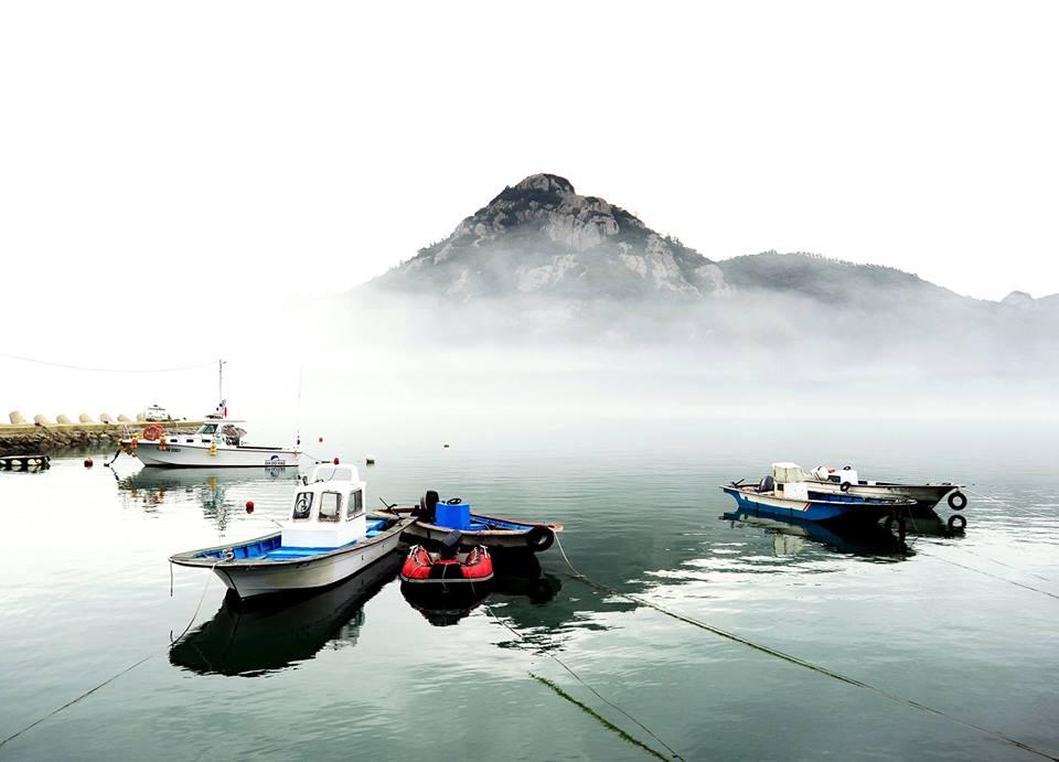 진돗물의 바다 구름, 한국.jpg