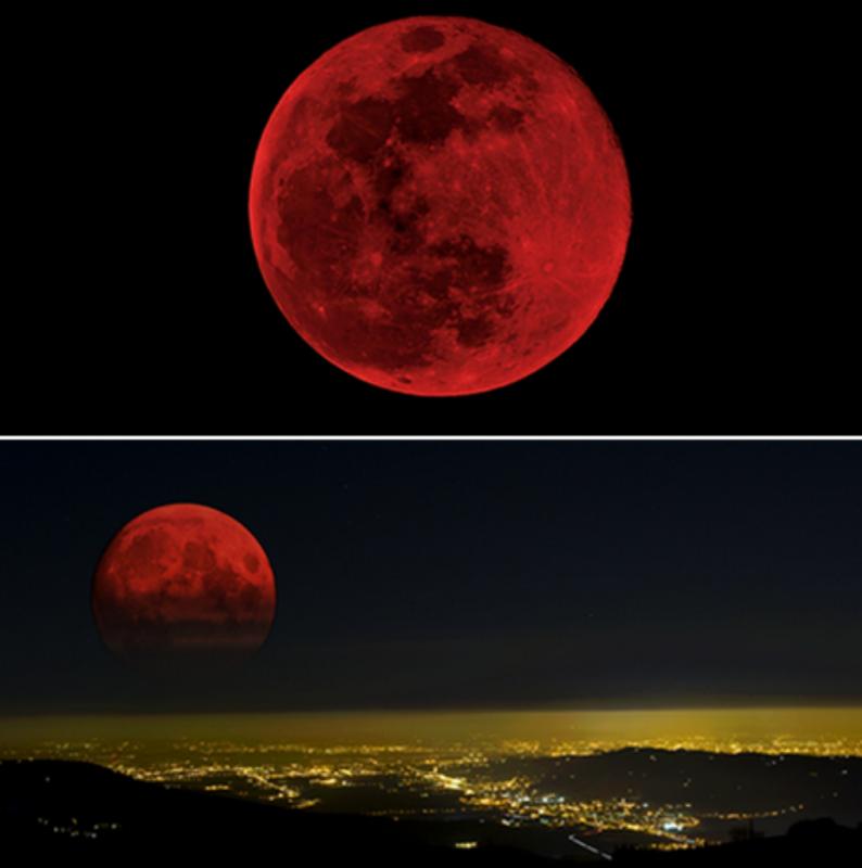 달의 일식의 신비로운 자연 현상..png