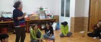 명천마을 부녀회의~