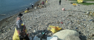 명천마을 해양쓰레기 ...